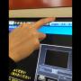 券売機タッチパネル